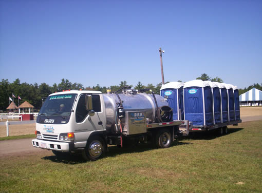 DRK Mobile Toilets